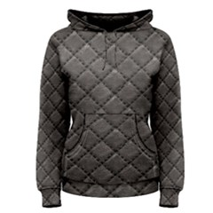 Seamless Leather Texture Pattern Women s Pullover Hoodie