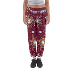 India Traditional Fabric Women s Jogger Sweatpants