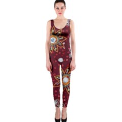 India Traditional Fabric Onepiece Catsuit