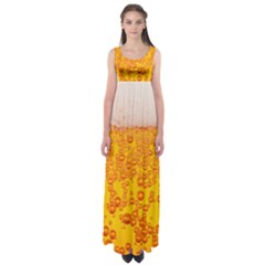 Beer Alcohol Drink Drinks Empire Waist Maxi Dress