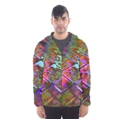 Technology Circuit Computer Hooded Wind Breaker (men)