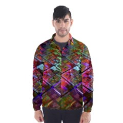 Technology Circuit Computer Wind Breaker (men)