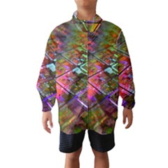 Technology Circuit Computer Wind Breaker (kids)