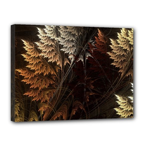 Fractalius Abstract Forests Fractal Fractals Canvas 16  X 12