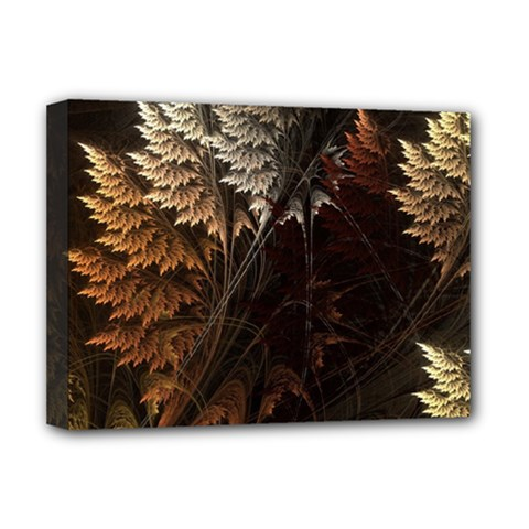 Fractalius Abstract Forests Fractal Fractals Deluxe Canvas 16  X 12