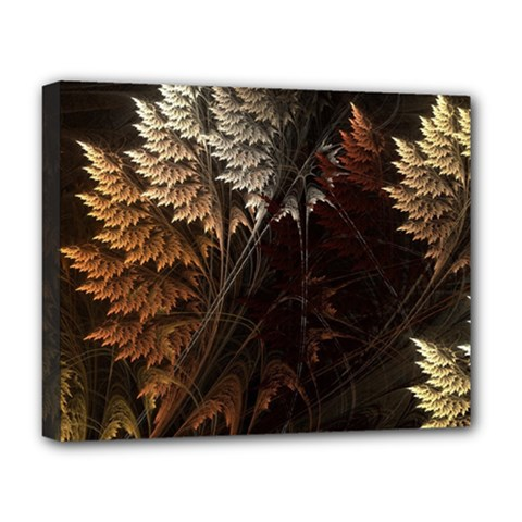 Fractalius Abstract Forests Fractal Fractals Deluxe Canvas 20  X 16