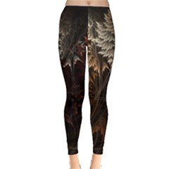 Fractalius Abstract Forests Fractal Fractals Leggings