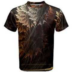 Fractalius Abstract Forests Fractal Fractals Men s Cotton Tee