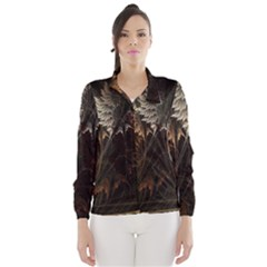 Fractalius Abstract Forests Fractal Fractals Wind Breaker (women)
