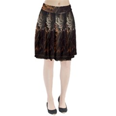 Fractalius Abstract Forests Fractal Fractals Pleated Skirt
