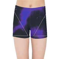 Space Kids Sports Shorts