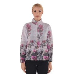 Shabby Chic Style Floral Photo Winterwear