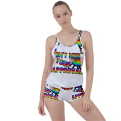 Dont Need Your Approval Boyleg Tankini Set