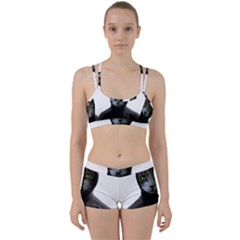 Gangsta Cat Women s Sports Set