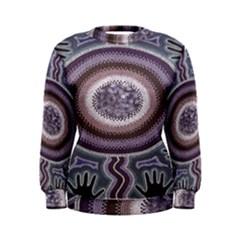 Spirit Of The Child Australian Aboriginal Art Women s Sweatshirt