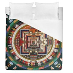 Colorful Mandala Duvet Cover (queen Size)