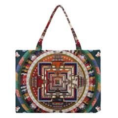 Colorful Mandala Medium Tote Bag