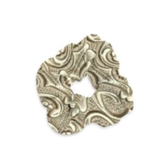 Golden European Pattern Velvet Scrunchie