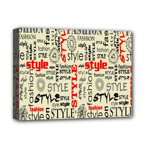Backdrop Style With Texture And Typography Fashion Style Deluxe Canvas 16  X 12