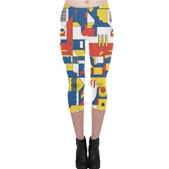 Hide And Seek Capri Leggings