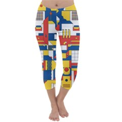 Hide And Seek Capri Winter Leggings