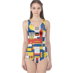 Hide And Seek One Piece Swimsuit