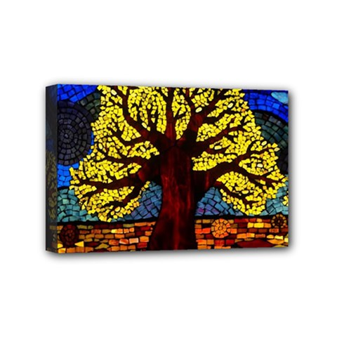 Tree Of Life Mini Canvas 6  X 4