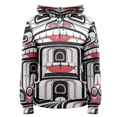 Ethnic Traditional Art Women s Pullover Hoodie