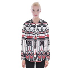 Ethnic Traditional Art Womens Long Sleeve Shirt