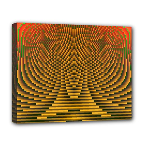 Fractal Pattern Deluxe Canvas 20  X 16