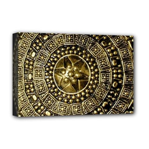 Gold Roman Shield Costume Deluxe Canvas 18  X 12