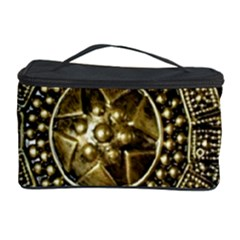 Gold Roman Shield Costume Cosmetic Storage Case