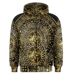 Gold Roman Shield Costume Men s Zipper Hoodie