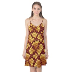 Snake Skin Pattern Vector Camis Nightgown
