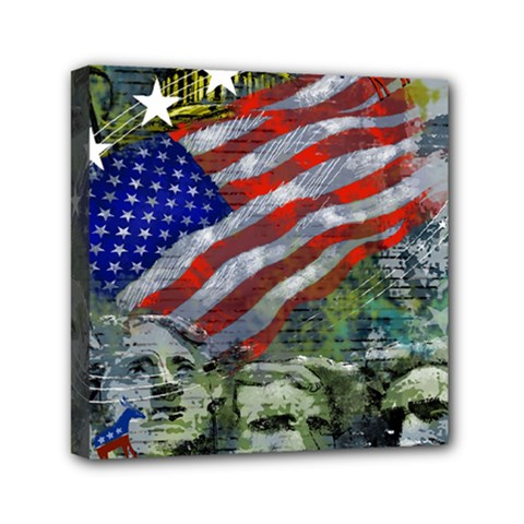 Usa United States Of America Images Independence Day Mini Canvas 6  X 6