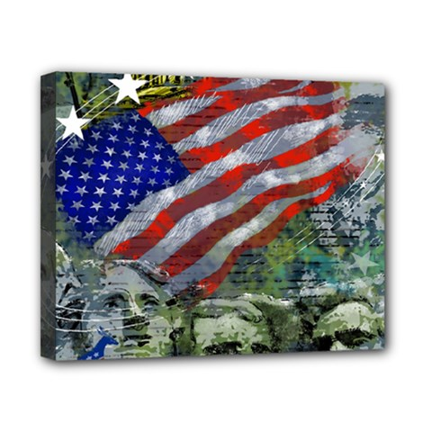 Usa United States Of America Images Independence Day Canvas 10  X 8