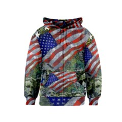 Usa United States Of America Images Independence Day Kids  Zipper Hoodie