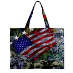 Usa United States Of America Images Independence Day Zipper Mini Tote Bag