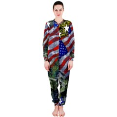 Usa United States Of America Images Independence Day Onepiece Jumpsuit (ladies)