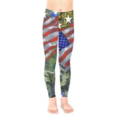 Usa United States Of America Images Independence Day Kids  Legging