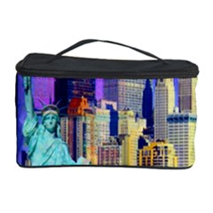 New York City The Statue Of Liberty Cosmetic Storage Case