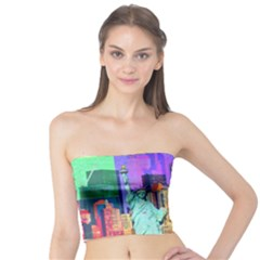 New York City The Statue Of Liberty Tube Top
