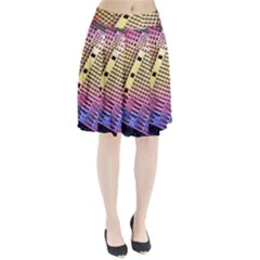 Optics Electronics Machine Technology Circuit Electronic Computer Technics Detail Psychedelic Abstra Pleated Skirt