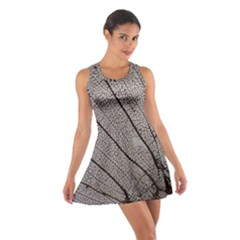 Sea Fan Coral Intricate Patterns Cotton Racerback Dress