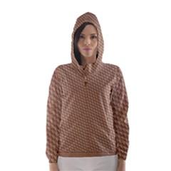 Tooling Patterns Hooded Wind Breaker (women)