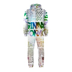 Imagine Dragons Quotes Hooded Jumpsuit (kids)
