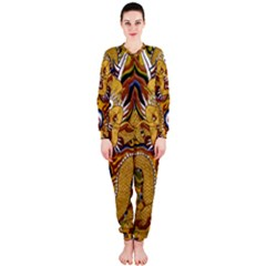 Chinese Dragon Pattern Onepiece Jumpsuit (ladies)