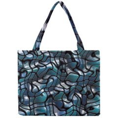 Old Spiderwebs On An Abstract Glass Mini Tote Bag