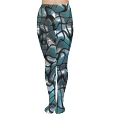 Old Spiderwebs On An Abstract Glass Women s Tights