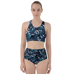 Old Spiderwebs On An Abstract Glass Bikini Swimsuit Spa Swimsuit